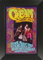 Bob Masse - Cream Farewell Concert Poster Framed