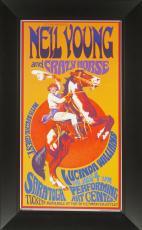 Bob Masse - Neil Young & Crazy Horse Concert Poster Fram