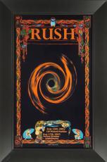 Bob Masse - Rush Concert Poster Framed