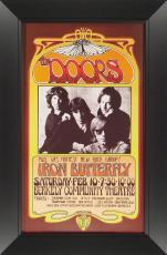 Bob Masse - The Doors Concert Poster Framed & The Doors (Band) Memorabilia: Autographed Albums \u0026 Signed Instruments