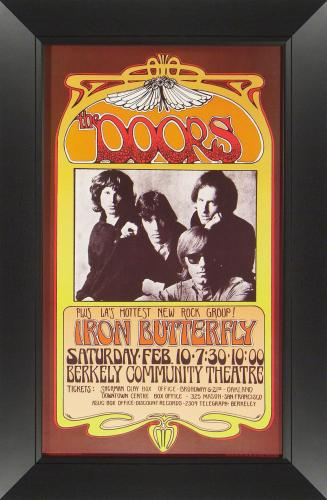 The Doors and Iron Butterfly at Berkeley Community Theatre
