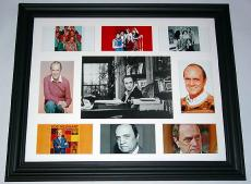 Bob Newhart Autographed Signed Photo Display PSA/DNA    AFTAL