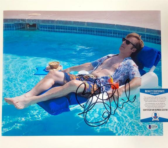BOB ODENKIRK autograph signed Better Call Saul 11x14 Photo D ~ Beckett BAS COA