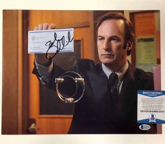 BOB ODENKIRK autograph signed Better Call Saul 11x14 Photo G ~ Beckett BAS COA