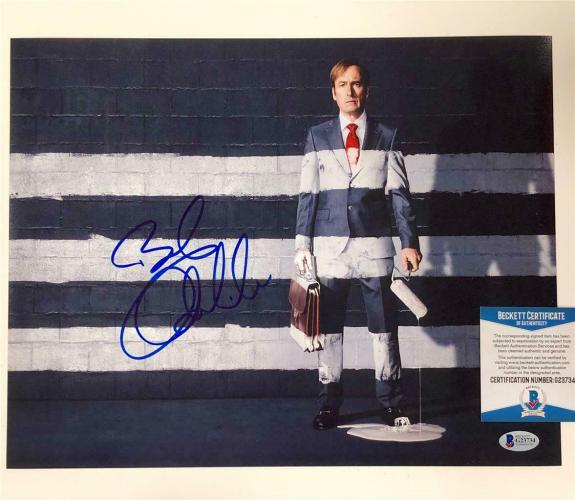 BOB ODENKIRK autograph signed Better Call Saul 11x14 Photo K ~ Beckett BAS COA