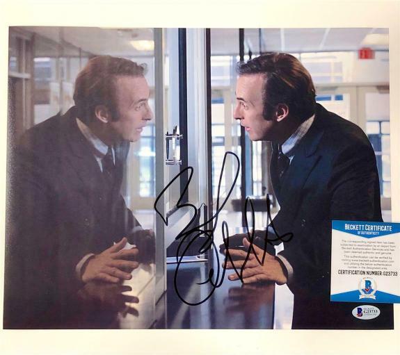 BOB ODENKIRK autograph signed Better Call Saul 11x14 Photo L ~ Beckett BAS COA