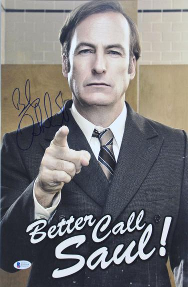 Bob Odenkirk Better Call Saul Signed 11x17 Mini Movie Poster BAS #E85169