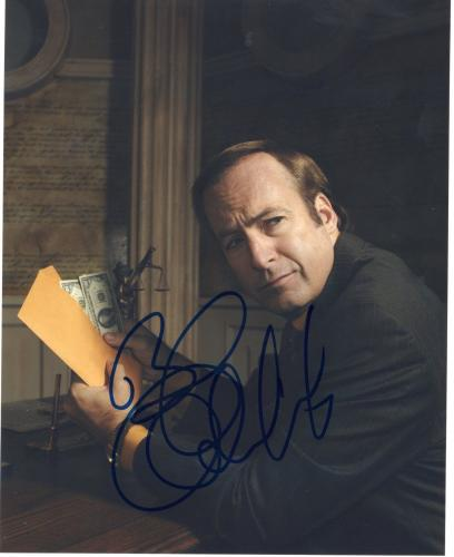 Bob Odenkirk Breaking Bad Better Call Saul Signed 8x10 Photo w/COA #9