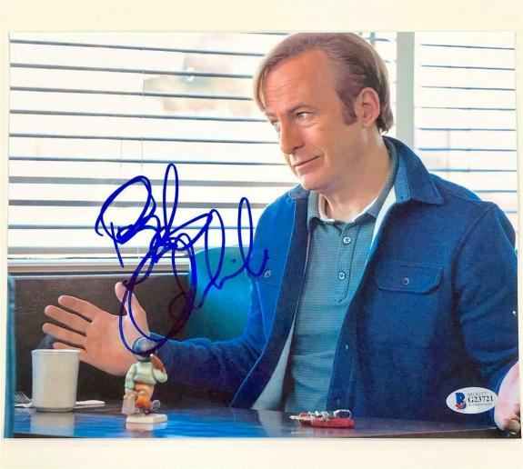 BOB ODENKIRK Breaking Bad signed Better Call Saul 8x10 Photo A ~ Beckett BAS COA