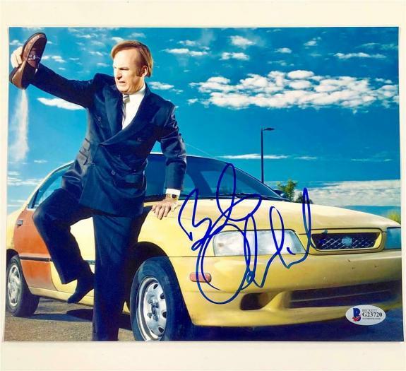 BOB ODENKIRK Breaking Bad signed Better Call Saul 8x10 Photo D ~ Beckett BAS COA