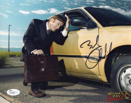 BOB ODENKIRK HAND SIGNED 8x10 COLOR PHOTO    AWESOME    BETTER CALL SAUL     JSA