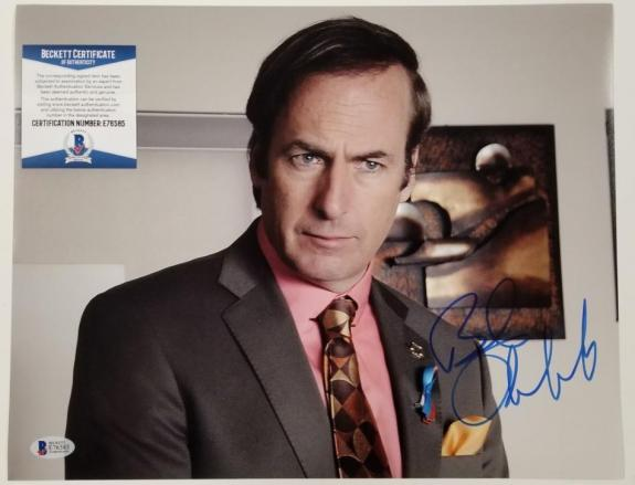 BOB ODENKIRK Signed 11x14 Photo 2 Breaking Bad Better Call Saul~ Beckett BAS COA