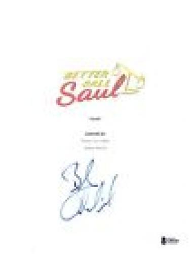 Bob Odenkirk Signed Autographed BETTER CALL SAUL Pilot Episode Script BAS COA