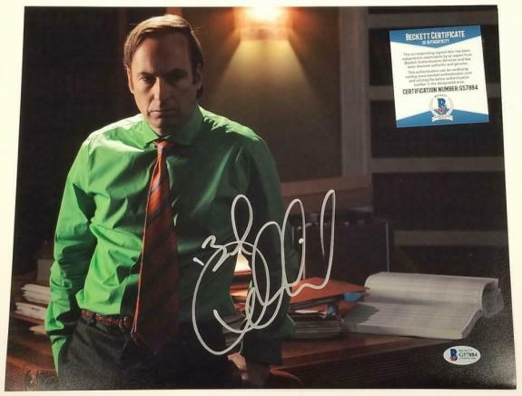 BOB ODENKIRK Signed Better Call Saul 11x14 Photo Autograph~ Beckett BAS COA