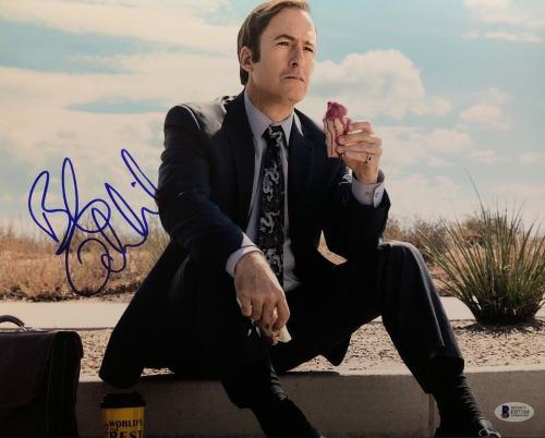 Bob Odenkirk Signed Better Call Saul 11x14 Photo BAS E07168