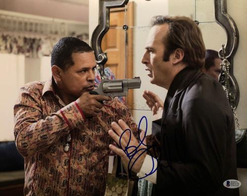 Bob Odenkirk Signed Better Call Saul 11x14 Photo BAS E07170