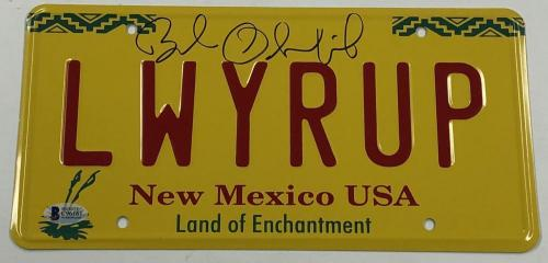 Bob Odenkirk Signed Better Call Saul License Plate Autograph Proof Becket Coa