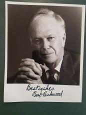 Bob Packwood-signed photo-Certified