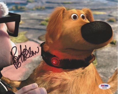 Bob Peterson Signed Autographed Disney 'Up' 8x10 Photo PSA AB92780