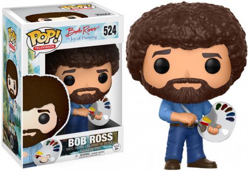 Bob Ross TV #524 Painting Funko Pop!