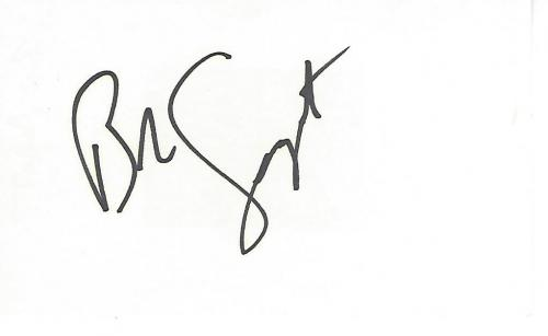 "BOB SAGET -ACTOR/TV HOST/DIRECTOR- Best Known as DANNY TANNER on TV Series ""FULL HOUSE"" and Hosting ""AMERICA'S FUNNIEST HOME VIDEOS"" Signed 5x3 Index Card"