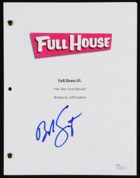 "Bob Saget Autographed ""first Episode"" Script (full House) - Jsa Coa!"
