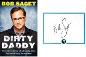 Bob Saget Autographed Signed  Dirty Daddy The Chronicles HC Book AFTAL UACC RD