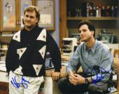 """BOB SAGET & DAVE COULIER Signed """"FULL HOUSE"""" 11x14 Photo BECKETT BAS #C34864"""
