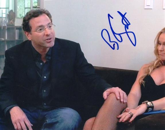 Bob Saget Entourage TV SHow HBO Full House Signed 8x10 Photo w/COA #2