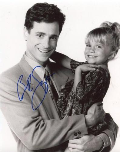Bob Saget Full House Danny Tanner B/w Signed Autographed  8x10 Photo W/ Coa