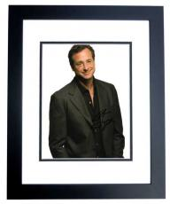 Bob Saget Signed - Autographed Full House Actor - Stand-Up Comedian 8x10 inch Photo BLACK CUSTOM FRAME - Guaranteed to pass PSA or JSA
