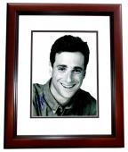 Bob Saget Signed - Autographed Full House Comedian 8x10 inch Photo MAHOGANY CUSTOM FRAME - Guaranteed to pass PSA or JSA