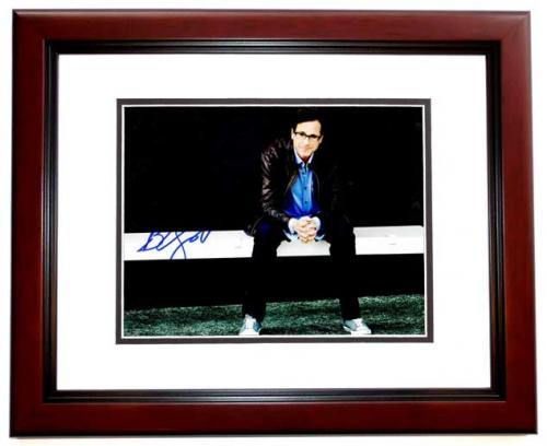 Bob Saget Signed - Autographed Full House Comedian 8x10 inch Photo MAHOGANY CUSTOM FRAME - Guaranteed to pass PSA or JSA