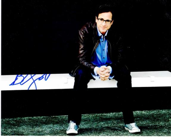 Bob Saget Signed - Autographed Full House Comedian 8x10 inch Photo - Guaranteed to pass BAS