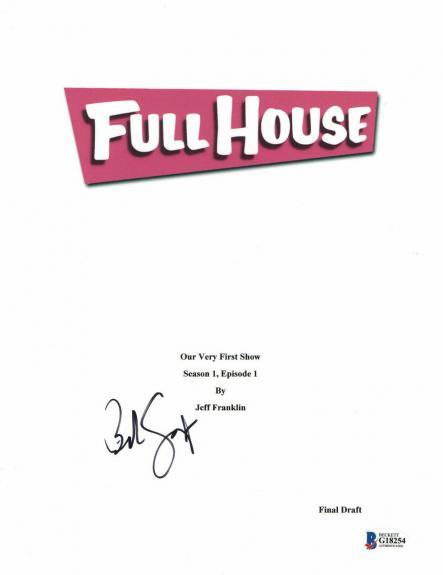 Bob Saget Signed Autographed Full House Full Script Beckett Bas Coa 3