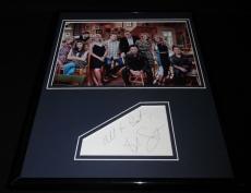 Bob Saget Signed Framed 11x14 Photo Display JSA w/ Fuller House cast