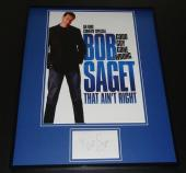 Bob Saget Signed Framed 16x20 Photo Poster Display That Ain't Right Full House