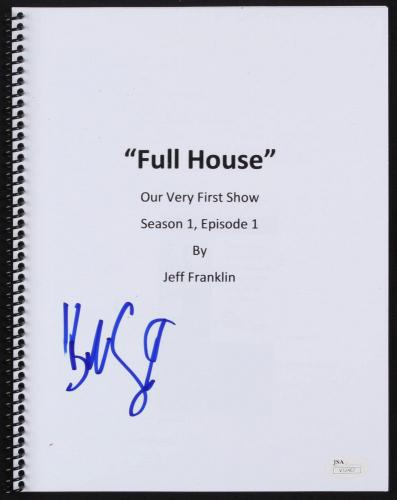 Bob Saget Signed Full House Our Very First Show Full Script JSA