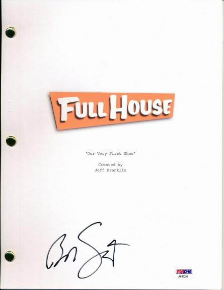"""Bob Saget Signed Full House """"Our Very First Show"""" Script PSA/DNA 147674"""