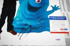 BOB Seth Rogen signed 11 x 14, Monsters Vs Aliens, Knocked Up, PSA/DNA