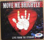 Bob Weir Grateful Dead signed CD Move Me Brightly PSA/DNA autographed