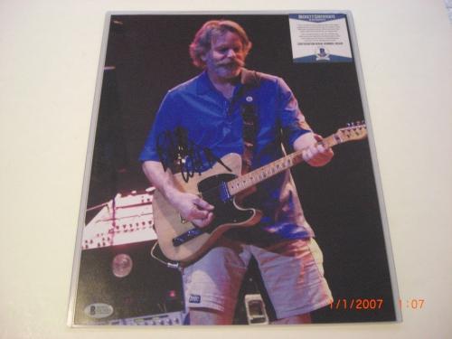 Bob Weir Grateful Dead Singer Beckett/coa Signed 11x14 Photo