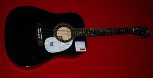 BOB WEIR greatful dead signed psa/dna acoustic guitar