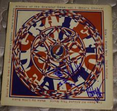 Bob Weir Phil Lesh Mickey Hart Signed Autographed Grateful Dead Record Album