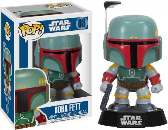 Boba Fett Star Wars #8 Funko Pop!