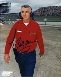 "Bobby Allison Autographed 8"" x 10"" Standing Headset Photograph"