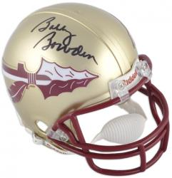 Bobby Bowden Florida State Seminoles Autographed Mini Helmet