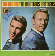 Bobby Hatfield & Bill Medley Autographed The Righteous Brothers The Best of the Righteous Brothers Album - PSA/DNA COA