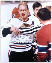 Chicago Blackhawks Bobby Hull ''Jet'' Autographed 16'' x 20'' Photo - Mounted Memories