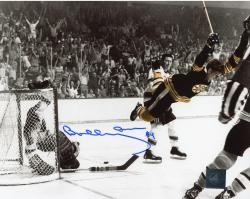 "Bobby Orr Boston Bruins Autographed The Goal 8"" X 10"" Photo"